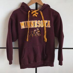 Kid's Youth Minnesota Golden Gophers Maroon Hoodie